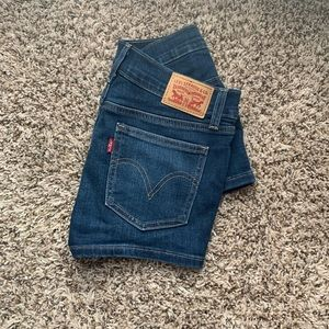 NWOT Levi's Denim Shorts